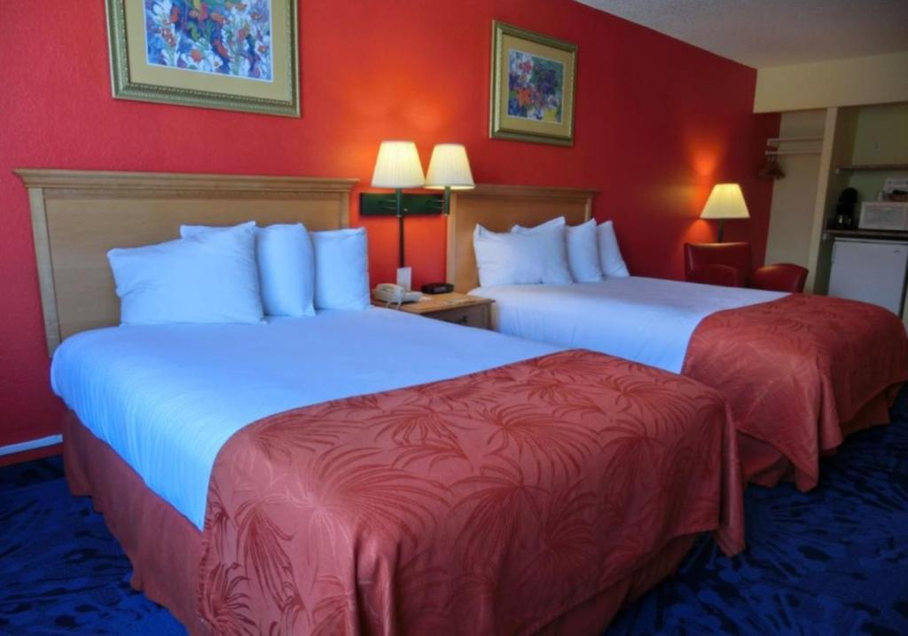 Book Now Dolphin Beach Resort (St Pete Beach, United States). Rooms Available for all budgets. This St. Pete Beach resort is located on the Gulf of Mexico opposite the street from the Dolphin Village Shopping Center. Features include an outdoor pool sun terrace and rest