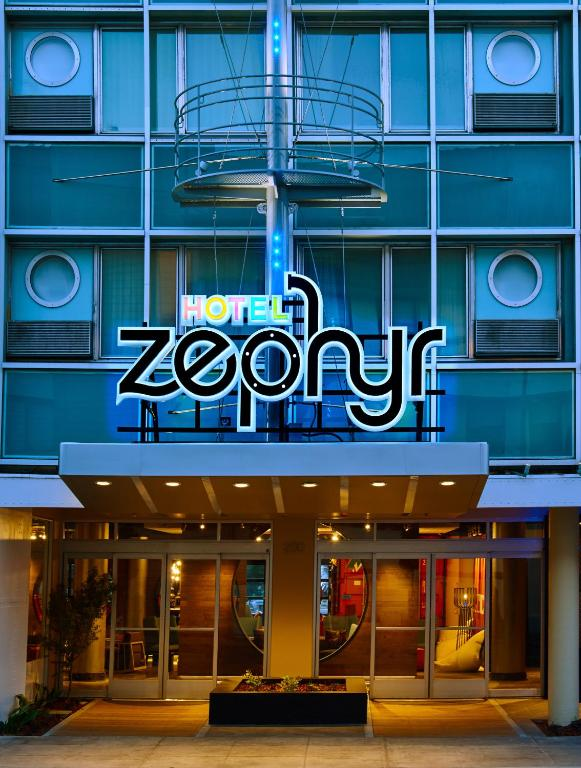 Book Now Hotel Zephyr San Francisco (San Francisco, United States). Rooms Available for all budgets. Guests can appreciate the free Wi-Fi and water views but its the whimsical nautical theme which includes Popeye and shipping containers that they'll remember at the non-smokin