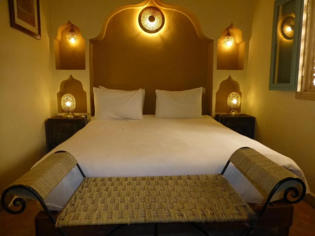 Double or Twin Room - Bed Palais Oumensour