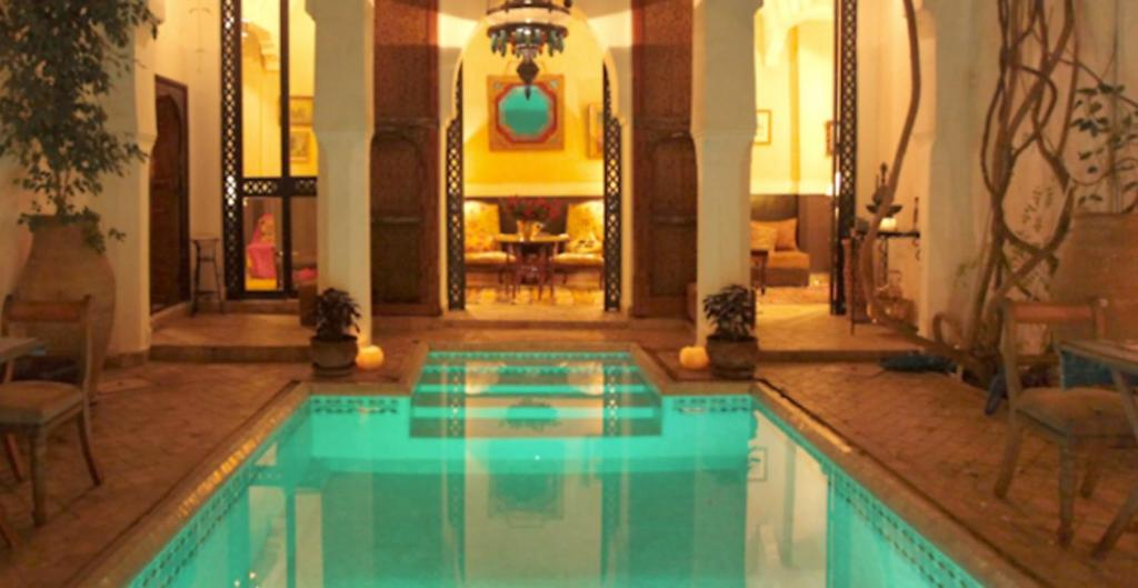 Swimming pool Riad Lyla