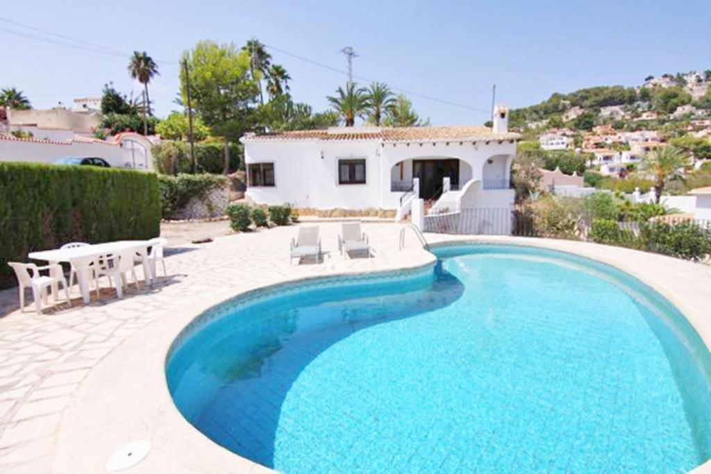 Apartamento de 3 Habitaciones Three-Bedroom Apartment in Moraira