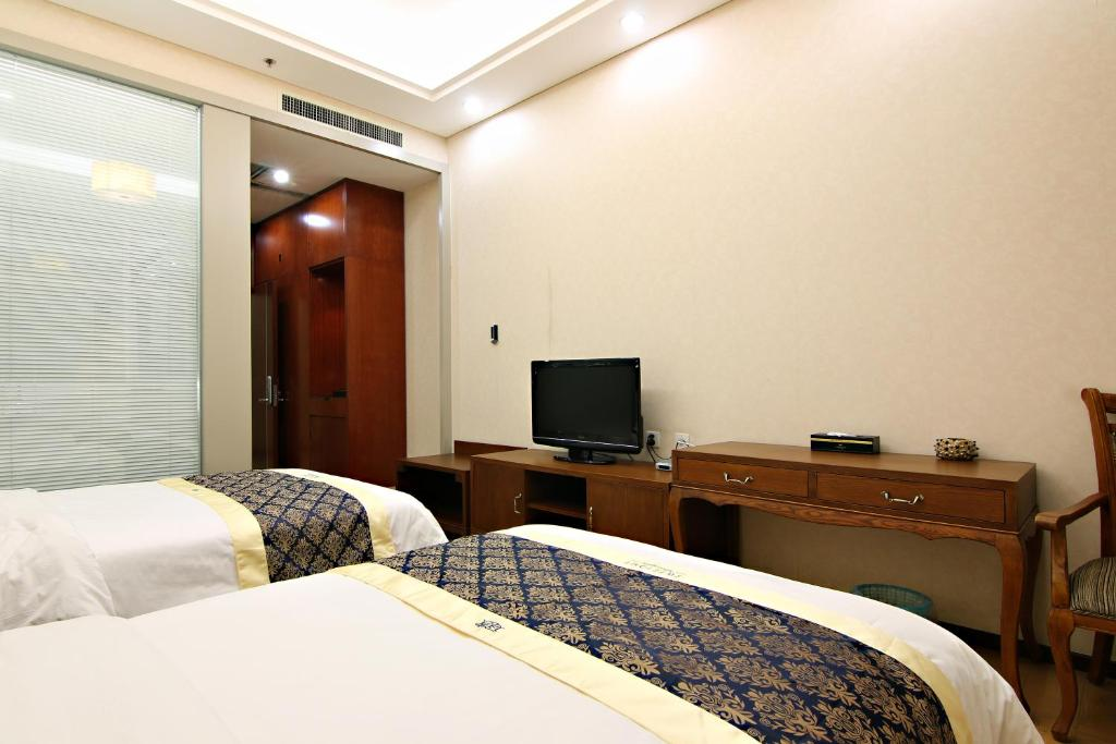 Mainland Chinese Citizens - Superior Twin Room with Mountain View Jinan Tujia Sweetome Vacation Apartment - Ni Ya Jia Ri