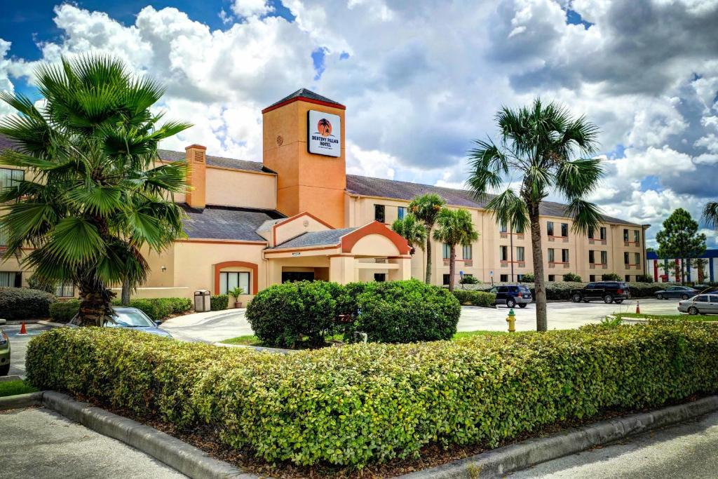 Book Now Destiny Palms Hotel Maingate West (Kissimmee, United States). Rooms Available for all budgets. This Kissimmee hotel is within a 5-minute drive of Walt Disney World. The hotel offers an outdoor pool free Wi-Fi and a continental breakfast.Destiny Palms Hotel Maingate West