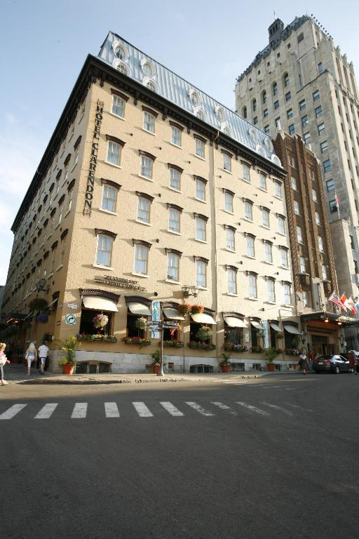 Book Now Hotel Clarendon (Quebec City, Canada). Rooms Available for all budgets. Built in 1870 this historic hotel in Old Quebec is within 2 minutes' walk of Chateau Frontenac as well as several shops and restaurants. It offers on-site dining and room serv