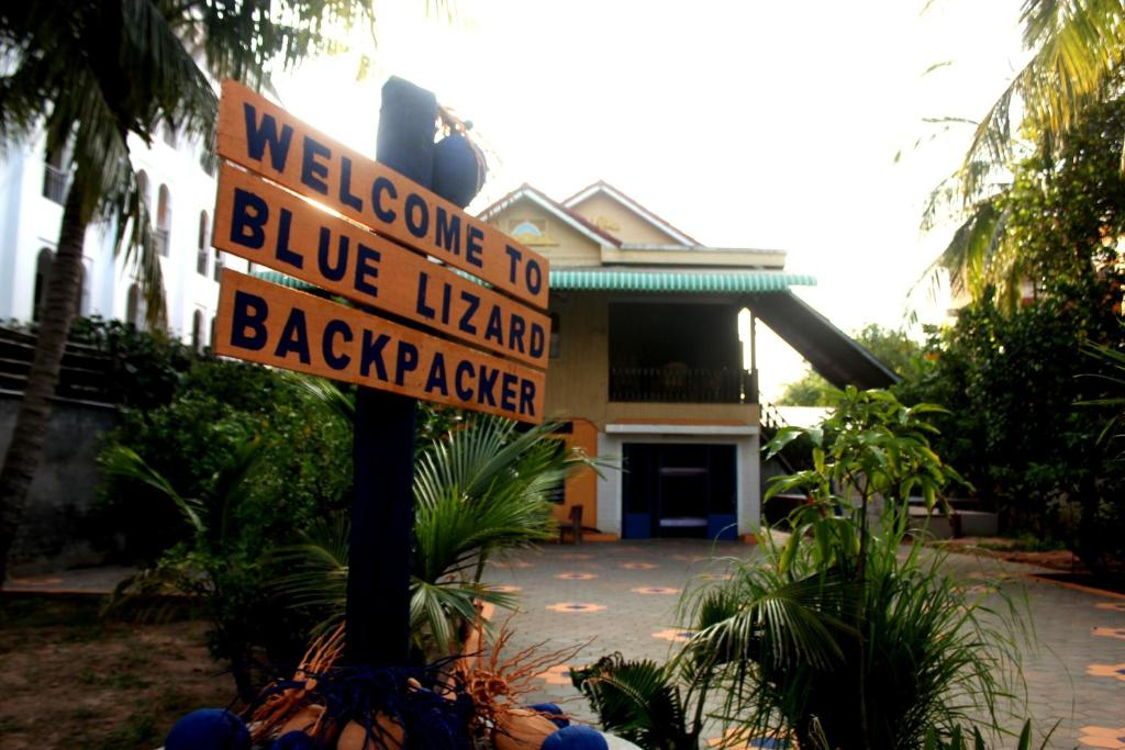 Bed in 8-Bed Mixed Dormitory Room Blue Lizard Backpacker