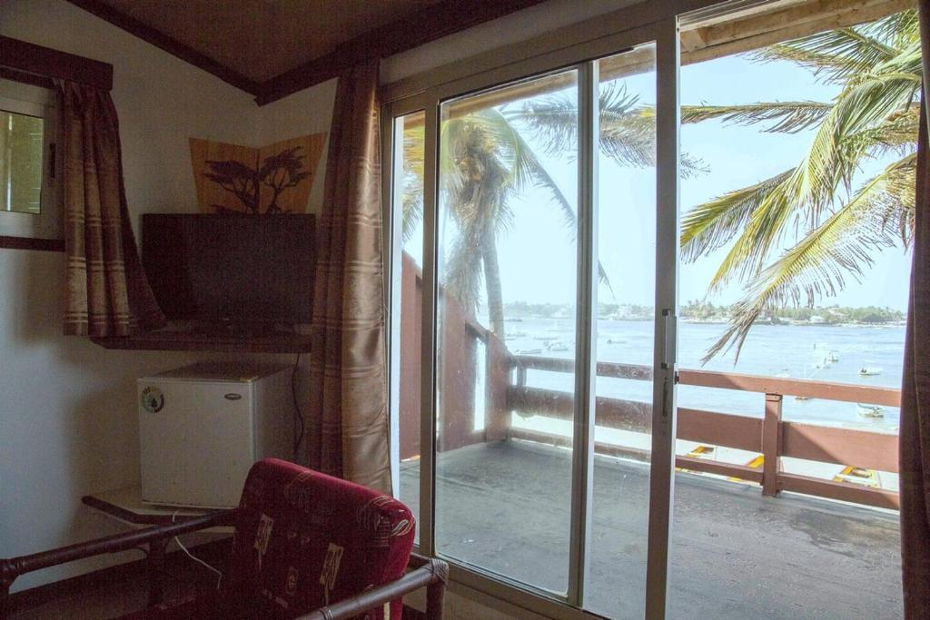 Double or Twin Room with Garden View - Balcony/terrace La Brazzerade