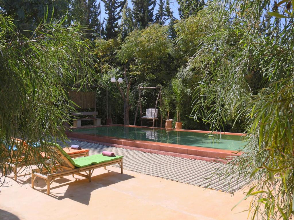 le jardin tougana campement lodge douar touggana
