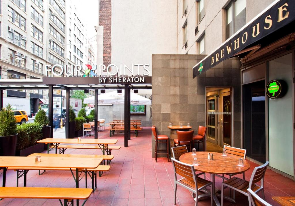 Book Now Four Points By Sheraton Manhattan Chelsea (New York City, United States). Rooms Available for all budgets. With plush beds an on-site restaurant and a cool Chelsea location the non-smoking Four Points by Sheraton Manhattan Chelsea offers plenty of reasons to check in. The 22-floor