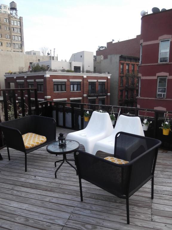 Balcony/terrace Modern Apartment - Greenwich Village With Shared Roofdeck & Terrace
