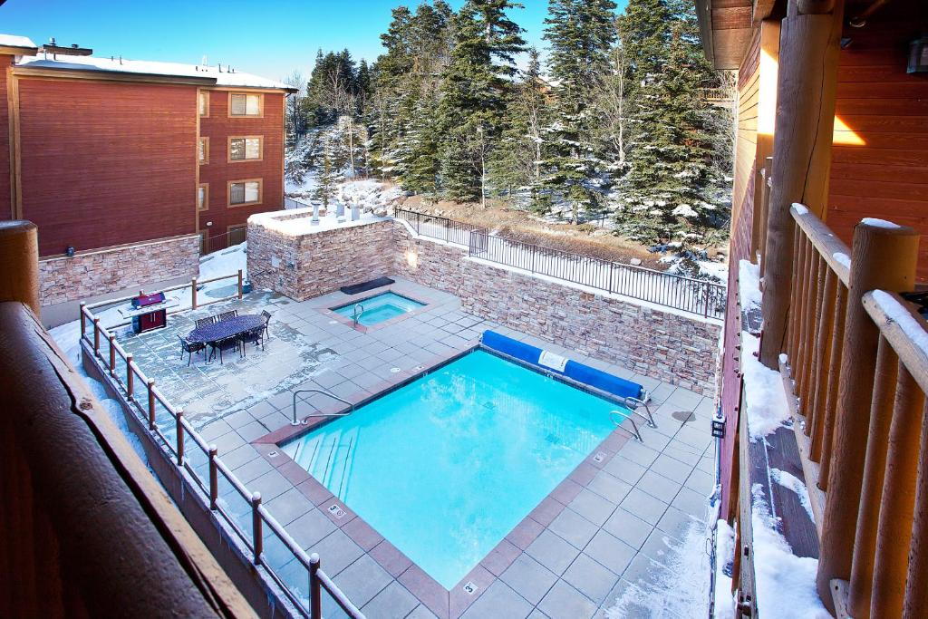 Балкон/терраса Black Bear Lodge in Deer Valley By Wyndham Vacation Rentals