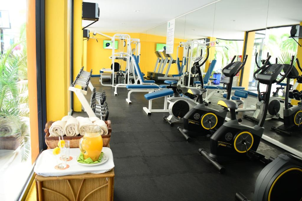 Fitness center One Bedroom Apartment by Copacabana Beach Hotel