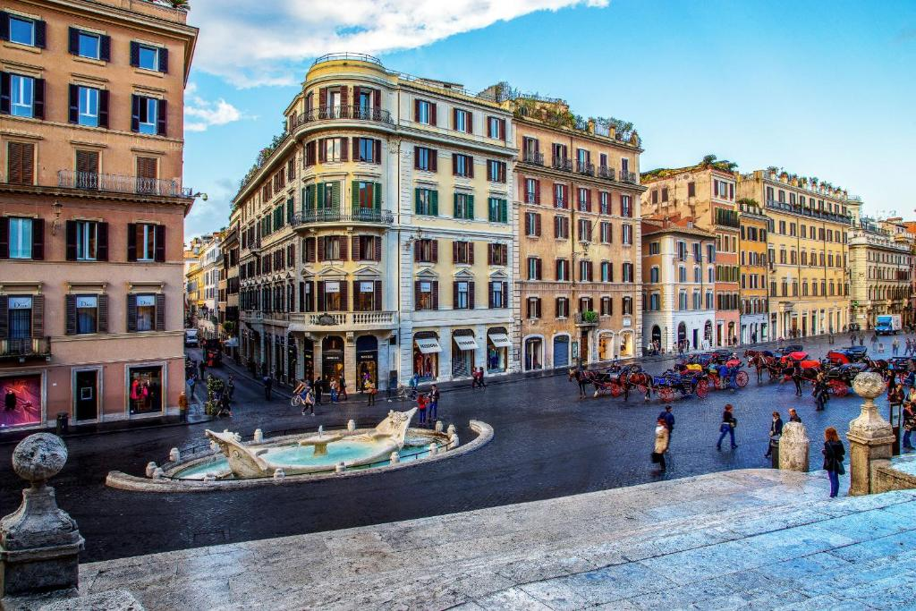 The Inn At The Spanish Steps Small Luxury Hotels In Rome Room