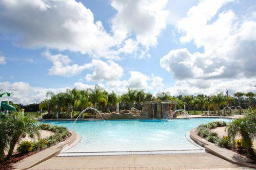 Swimming pool Paradise Palms 4 Bedroom-3093