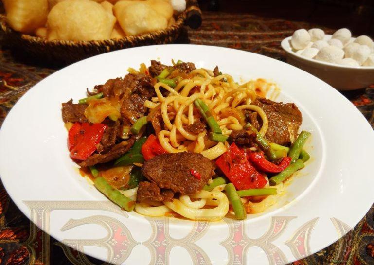 Уйгурский лагман рецепт с фото пошагово