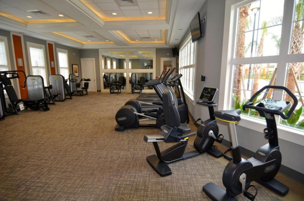Fitness center Solterra Resort Five-Bedroom Pool Home - ACC4305