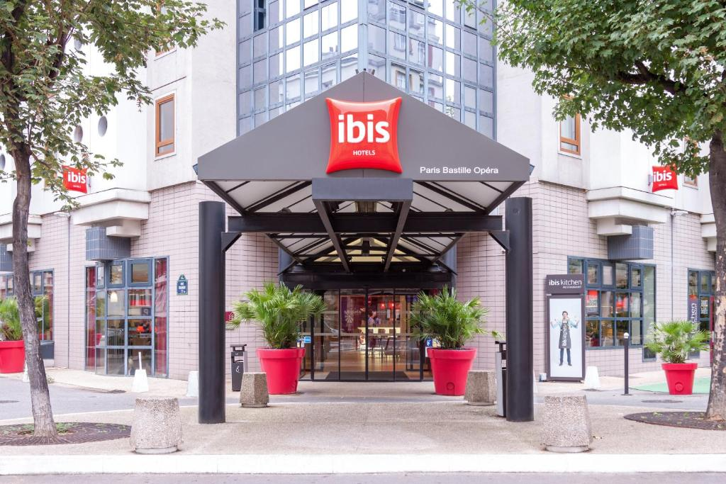 Hotel Ibis Paris Bastille Opera  Ef Bf Bdme Rue Breguet Paris