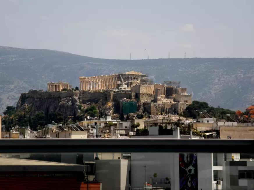 Rõdu/terrass Acropolis View Apartments by Kerameikos