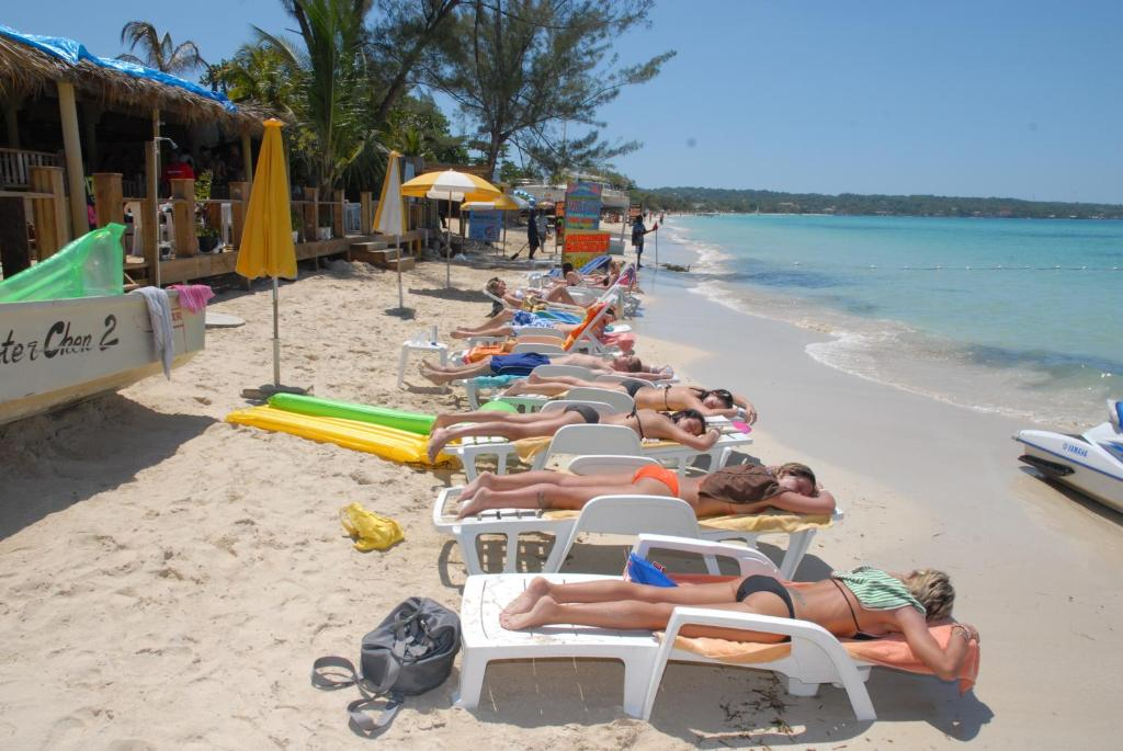 This Resort Is Located On The Beautiful White Sand 7 Mile Beach In Negril Jamaica