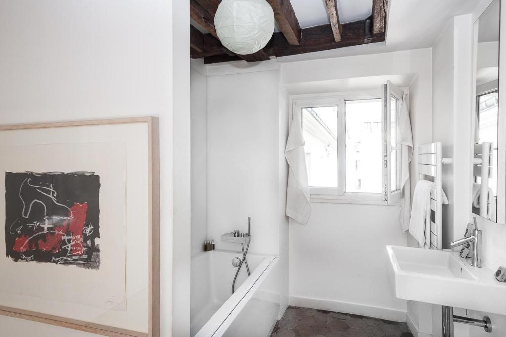 Baño onefinestay - Rue Saint-Dominique private home II