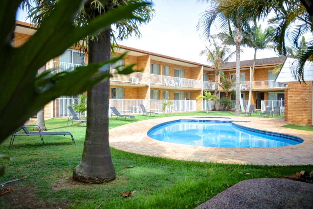 Pool Beachpark Apartments Coffs Harbour