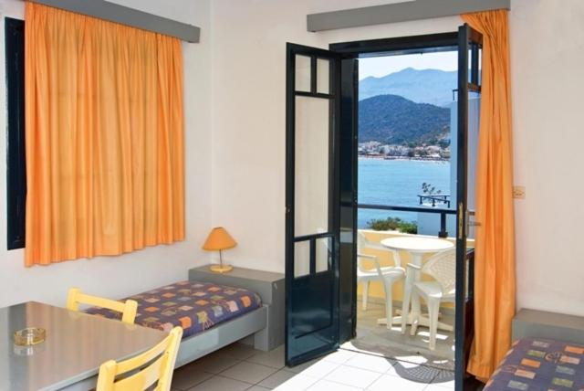 Enjoying Views Over The Gulf Of Malia Summer Memories Apartments