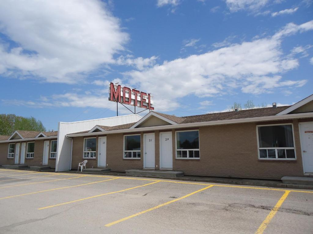 Exterior view Motel Le Rond Point