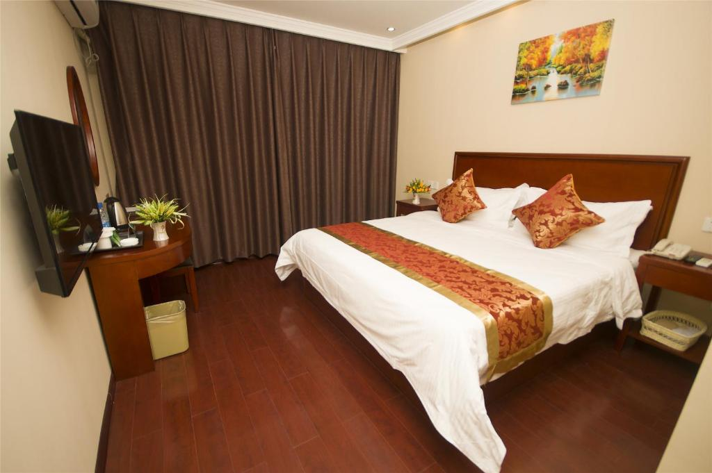 Guestroom Green Tree Inn Xuzhou West District Huohua Shell Hotel