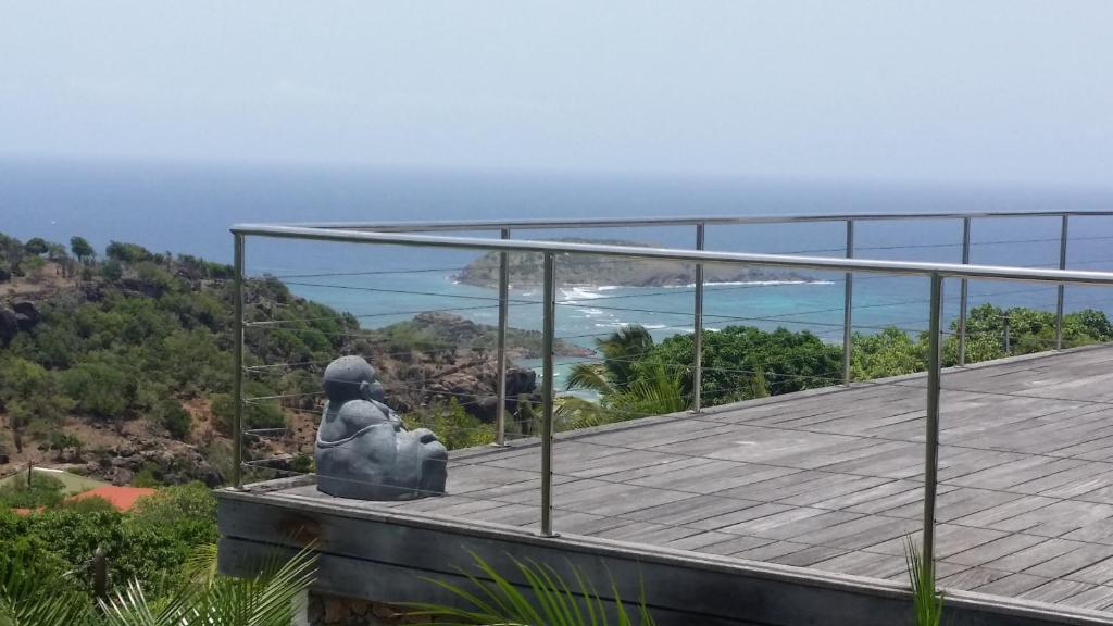 Steve - Cottage with Private Pool and Ocean View - Pandangan Au Coeur Caraibe St Barth