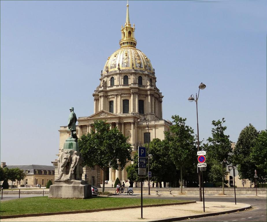 Apartament Estudi Studio near UNESCO - Invalides