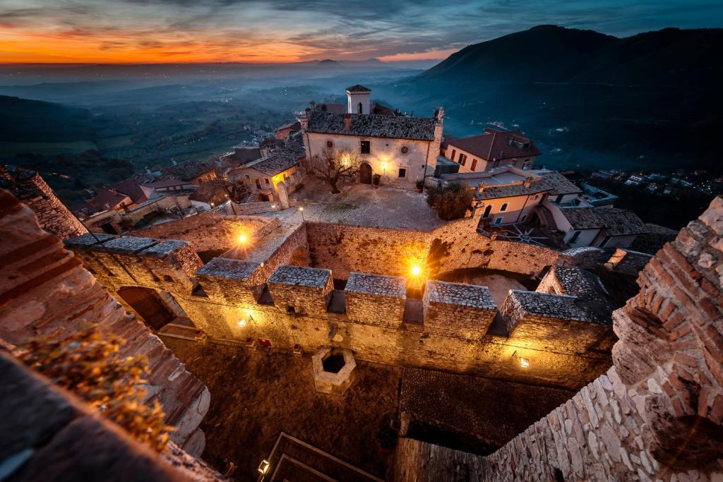 Book Now Castello Orsini Hotel (Nerola, Italy). Rooms Available for all budgets. Castello Orsini is a unique 5-star hotel set in a completely renovated medieval hamlet with panoramic views of the Tiber Valley. It offers air conditioned rooms and a restaura
