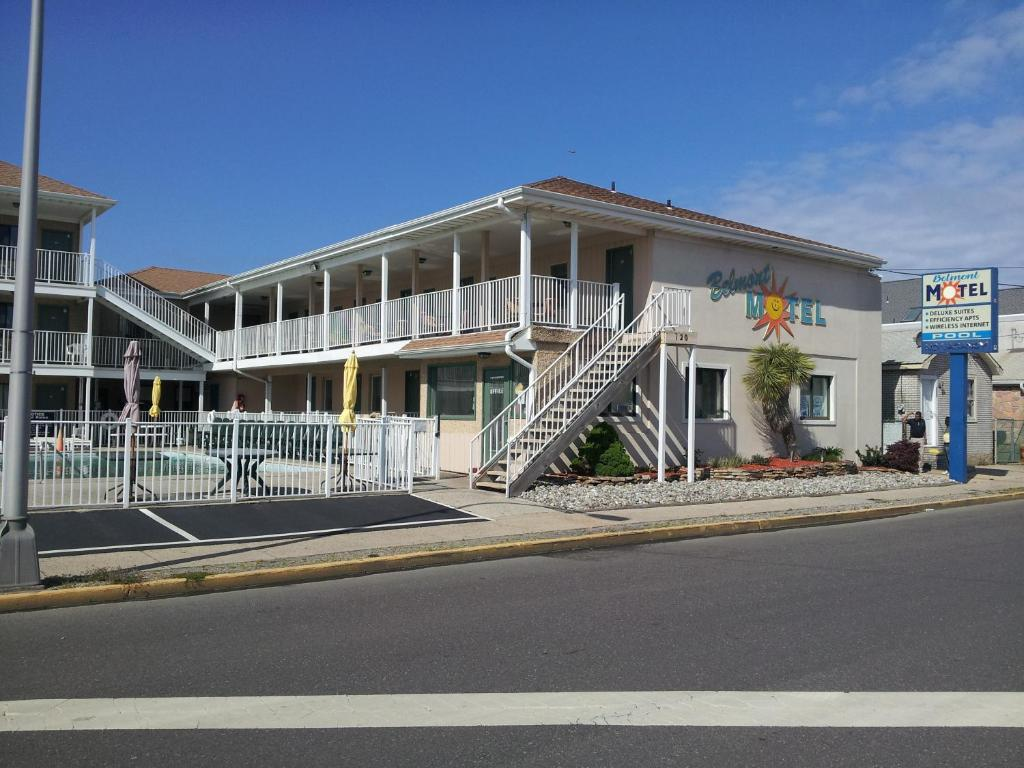 Book Now Belmont Motel Seaside Heights (Seaside Heights, United States). Rooms Available for all budgets. Less than 3 minutes' walk to the boardwalk and beach this Seaside Heights motel offers free Wi-Fi and rooms that feature traditional decor and a seating area. Plenty of shoppi