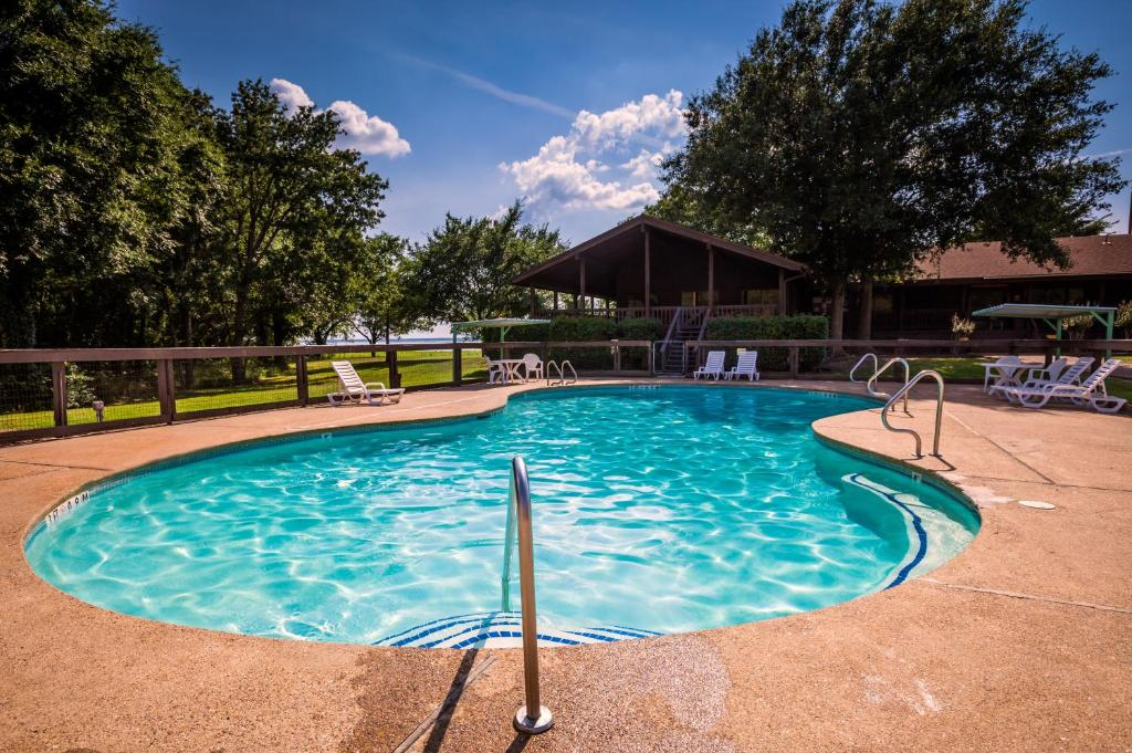 Piscina Lake Tawakoni Camping Resort Cabin 4