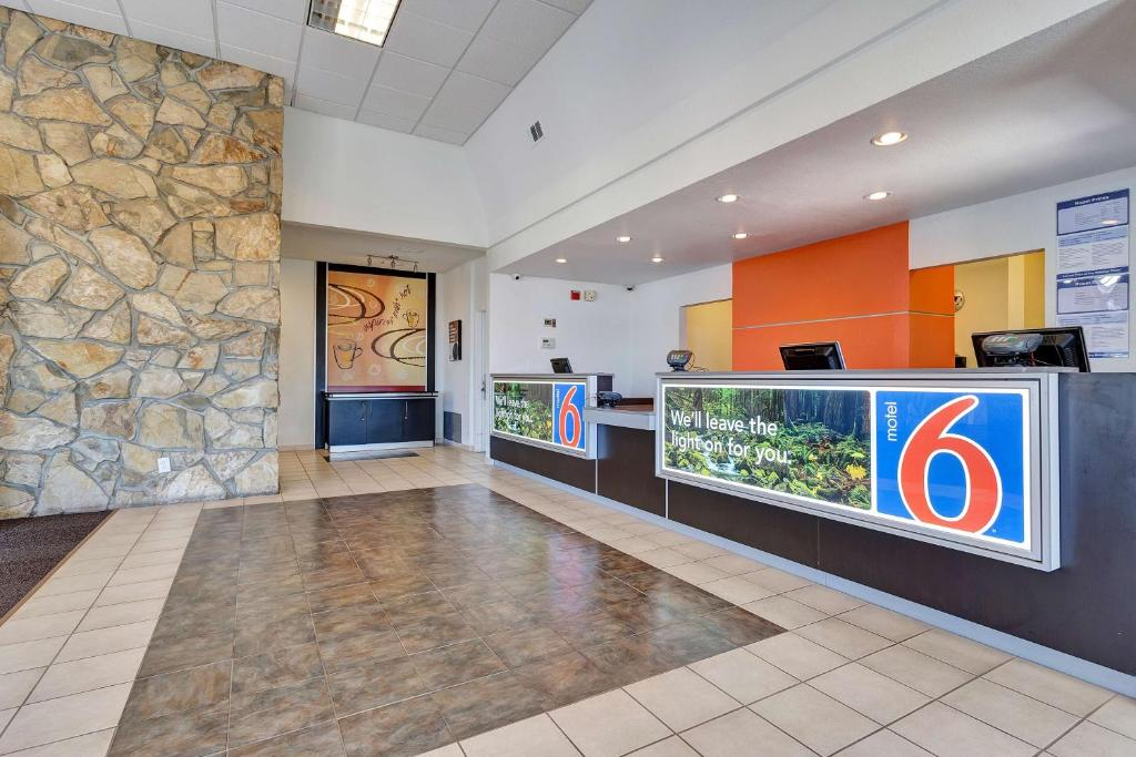 Lobby Motel 6 San Francisco - Redwood City
