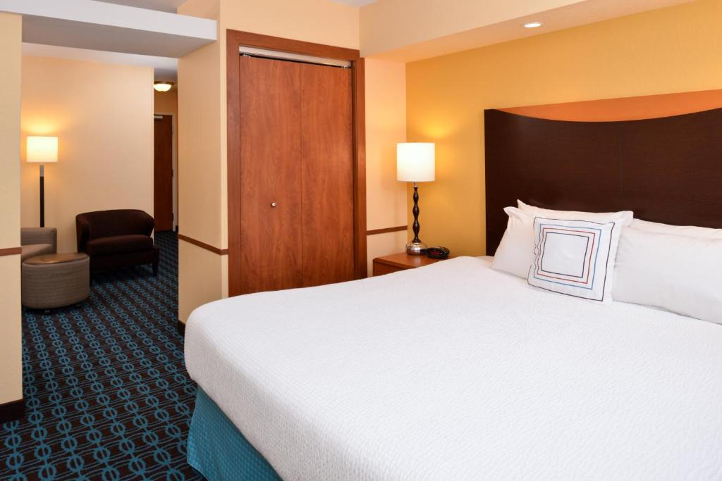Quartos Fairfield Inn & Suites Fort Wayne
