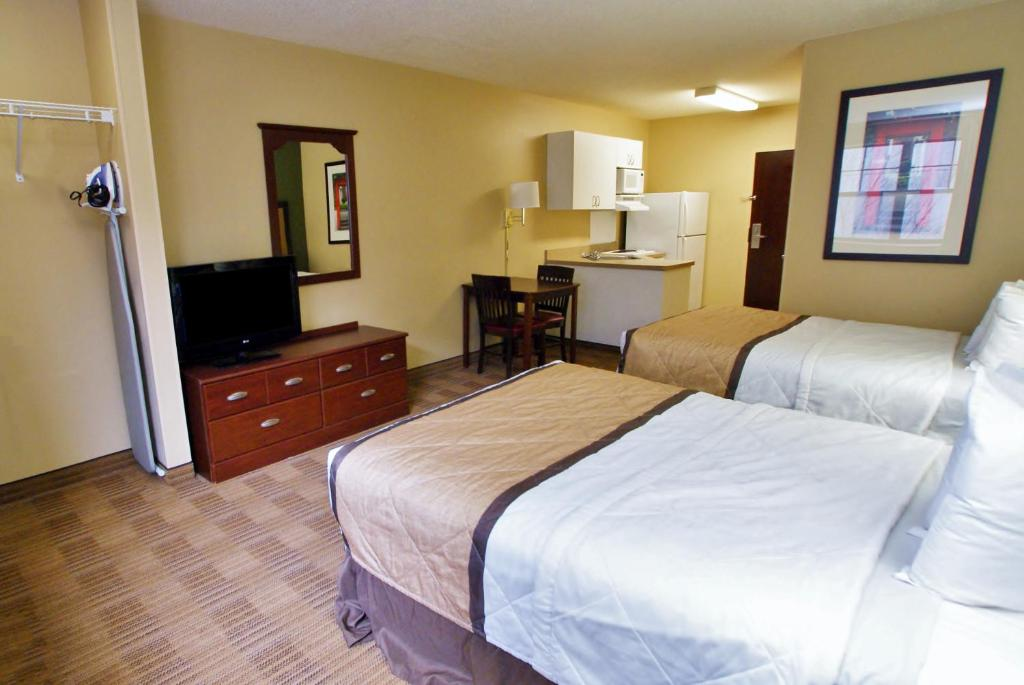 Quartos Extended Stay America Raleigh Cary Regency Pkwy N