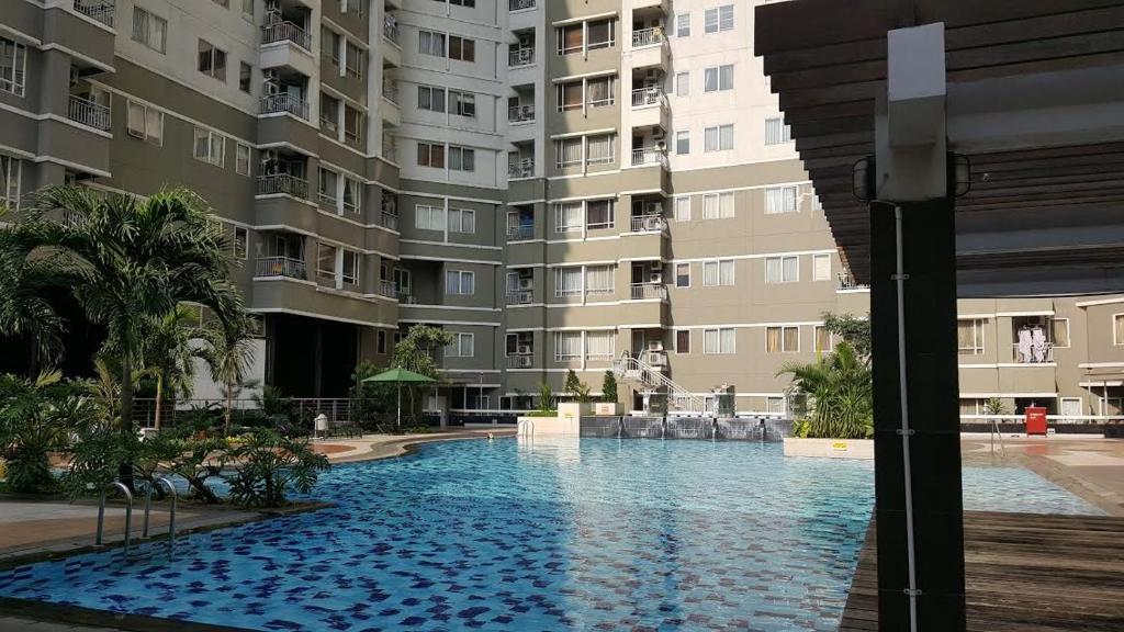 3 Bedroom At Sudirman Park Apartment