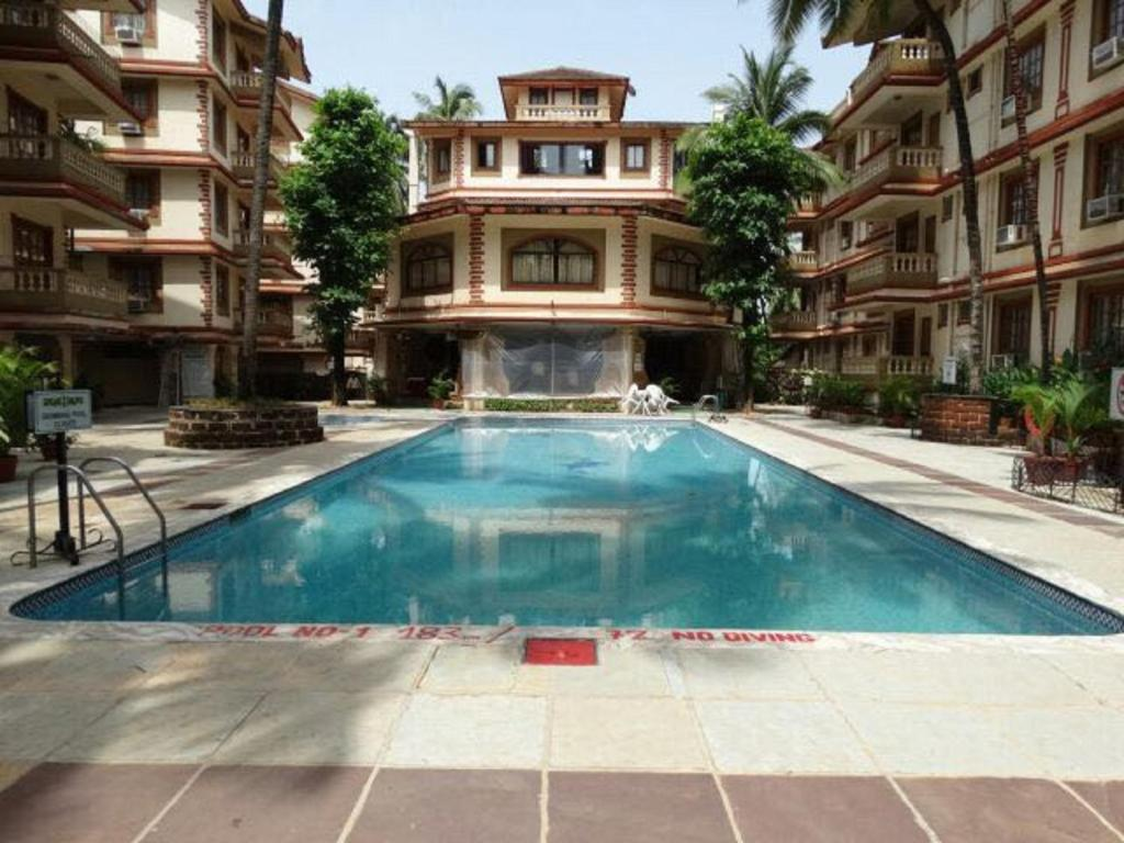 游泳池 Ourgoaholidays 1 Bhk in the heart of Candolim