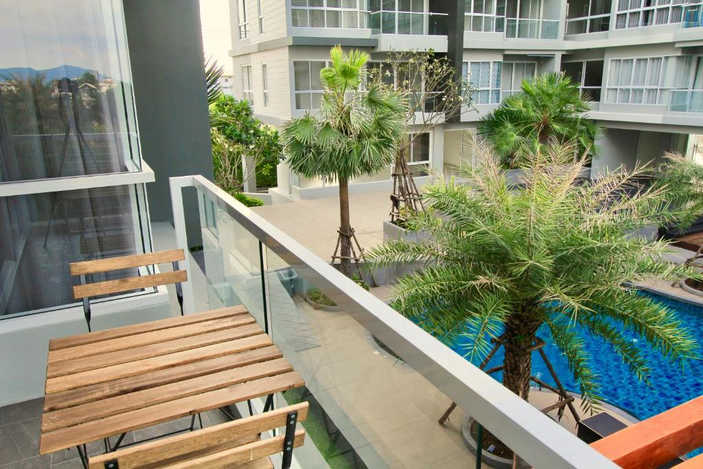 Balcony/terrace Ultimate Seasons Park Rayong