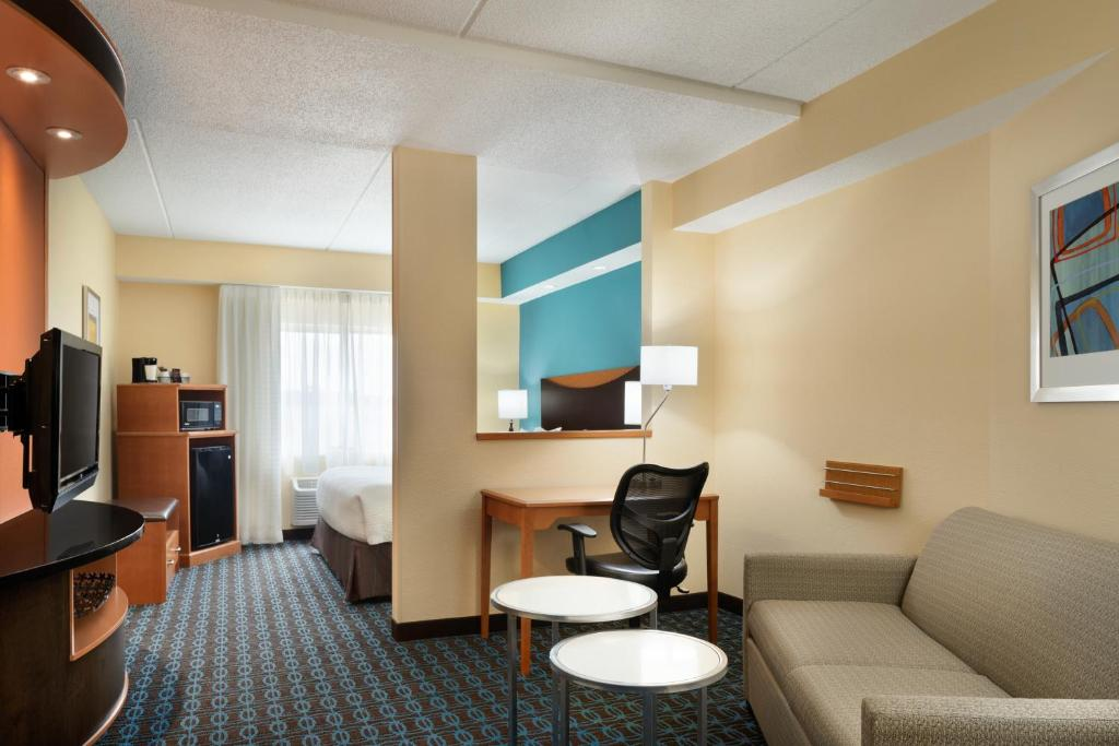 Instalações Fairfield Inn & Suites Minneapolis Bloomington/Mall of America
