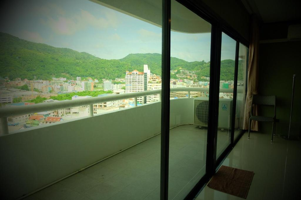 阳台/露台 Nice 1Bed at Patong
