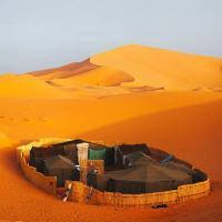 Marhaba Camp, Camel & Sandboarding, Zelt-Lodges - Merzouga