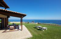 Seafront Pool Villa, Panoramic View, Ferienhäuser - Áfitos