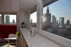 23 floor Warsaw View Apartment