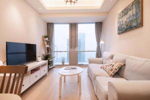 Tieshimen Suyue Apartment, Apartmány  Suzhou - big - 19