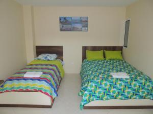 Turispanish Hostel, Pensionen  Santa Marta - big - 10