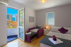 Diamond Apartments, Appartamenti  Budua - big - 6