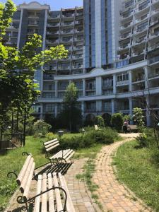 Luxury Seaview apartments in Arcadia, Apartmanok  Odessza - big - 8
