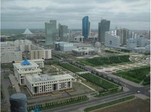 Apartments on 6 Sauran Street, Appartamenti  Astana - big - 6