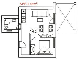 San Lorenzo Apartments, Penziony  Lovrečica - big - 29