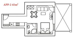 San Lorenzo Apartments, Penziony  Lovrečica - big - 30